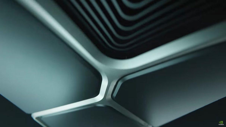 Una imagen teaser de las nuevas GPU Ampere RTX 3000 de Nvidia.