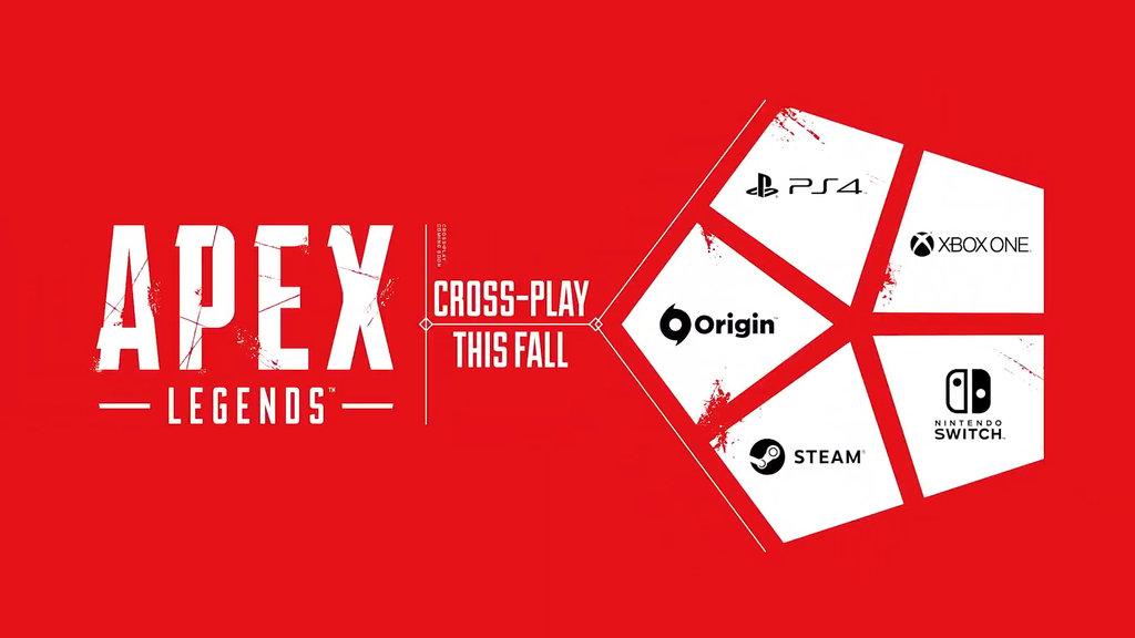 Estas son las cinco plataformas que serán compatibles con el juego cruzado de Apex Legends.
