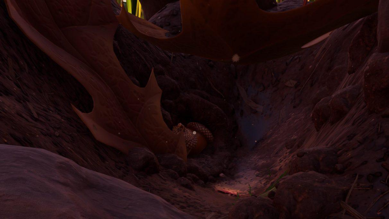 La segunda cueva de cuarcita está custodiada por larvas.