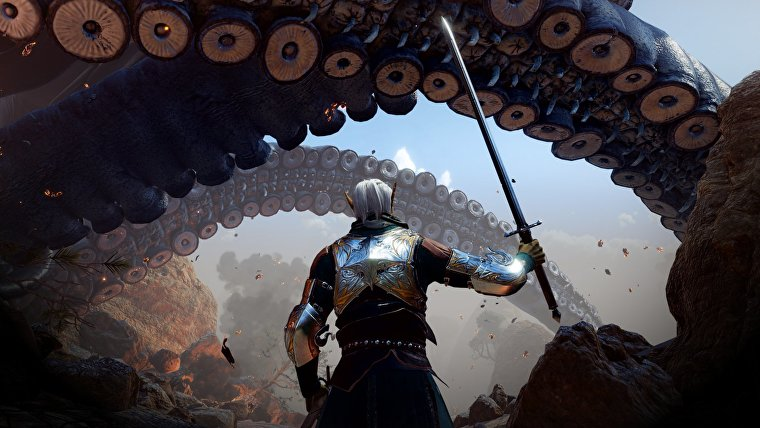 Una captura de pantalla de Baldur's Gate 3.