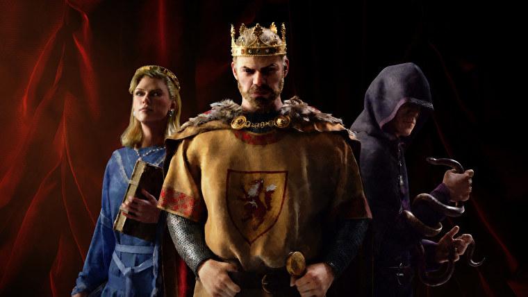 Ilustraciones para Crusader Kings 3.