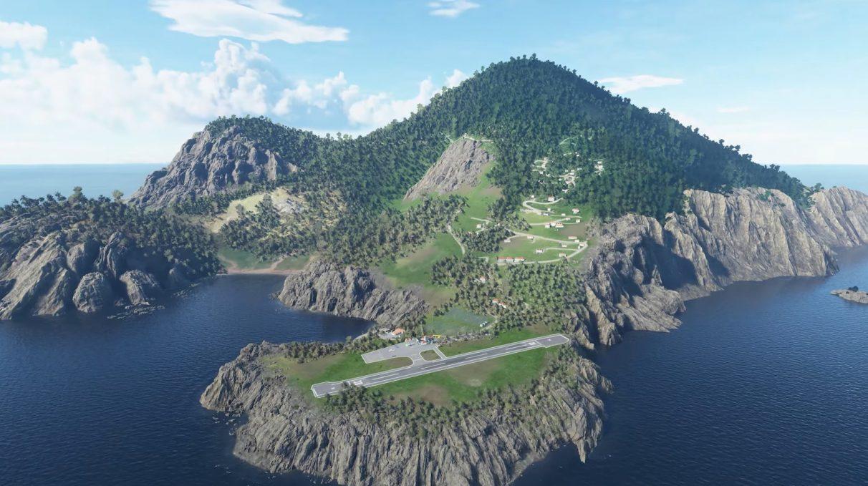 La actualización o la compra de las ediciones Deluxe y Premium de Microsoft Flight Simulator le brindan 5 nuevos aeropuertos hechos a mano de todo el mundo.