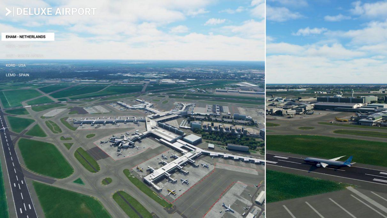 EHAM - Aeropuerto de Ámsterdam-Schiphol (Países Bajos)