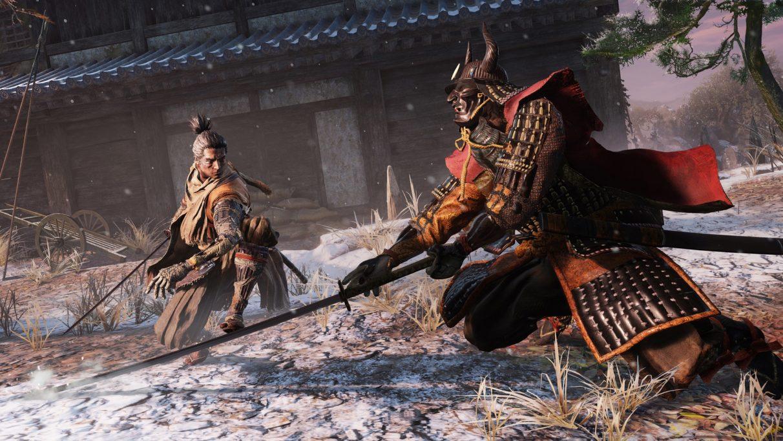 Un poco de pelea en Sekiro: Shadows Die Twice