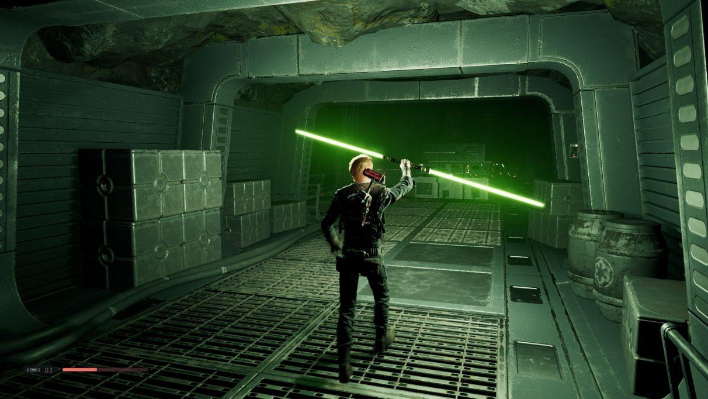 Star Wars Jedi: guía del sable de luz de Fallen Order: cómo desbloquear el sable de luz de doble hoja