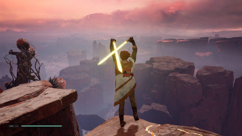 Star Wars Jedi: guía del sable de luz de Fallen Order - Cómo desbloquear el sable de luz dividido