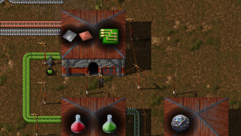 Captura de pantalla tomada de la página Factorissimo2 en Factorio Mod Portal.