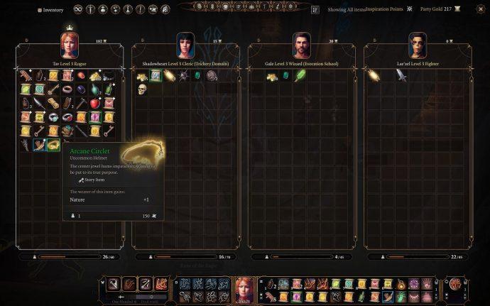 Objeto de misión de círculo arcano en Baldur's Gate 3