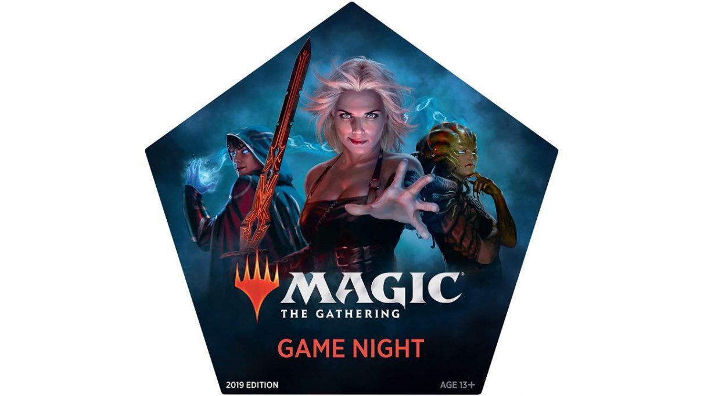 La caja multijugador Magic Game Night.