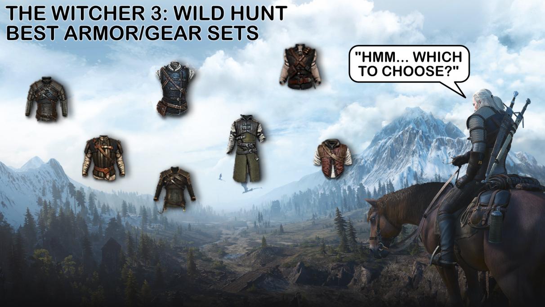 Guía de conjuntos de armadura y equipo de The Witcher 3