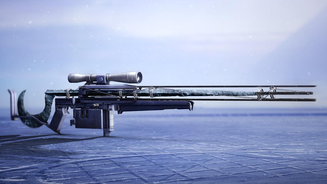 Una imagen de Cloudstrike, Destiny 2: Beyond Light, el nuevo rifle de francotirador exótico.