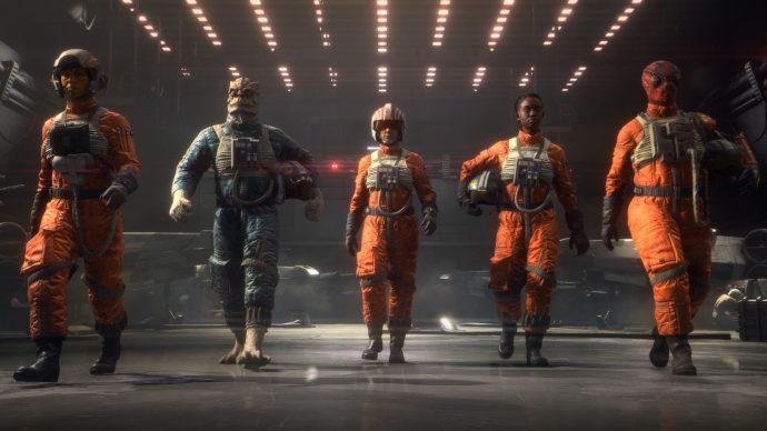 Mejor equipamiento de ala A en Star Wars: Squadrons
