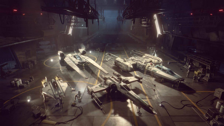 Mejor equipamiento de ala en U en Star Wars: Squadrons