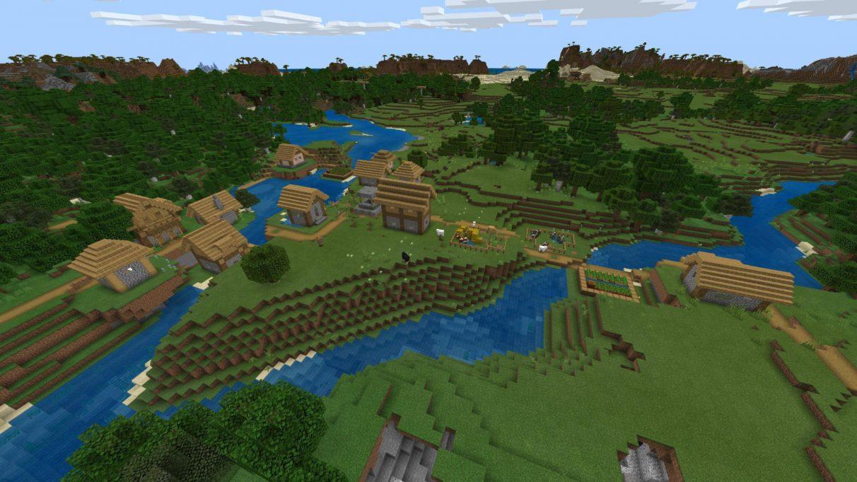 Engendro del techo de la aldea