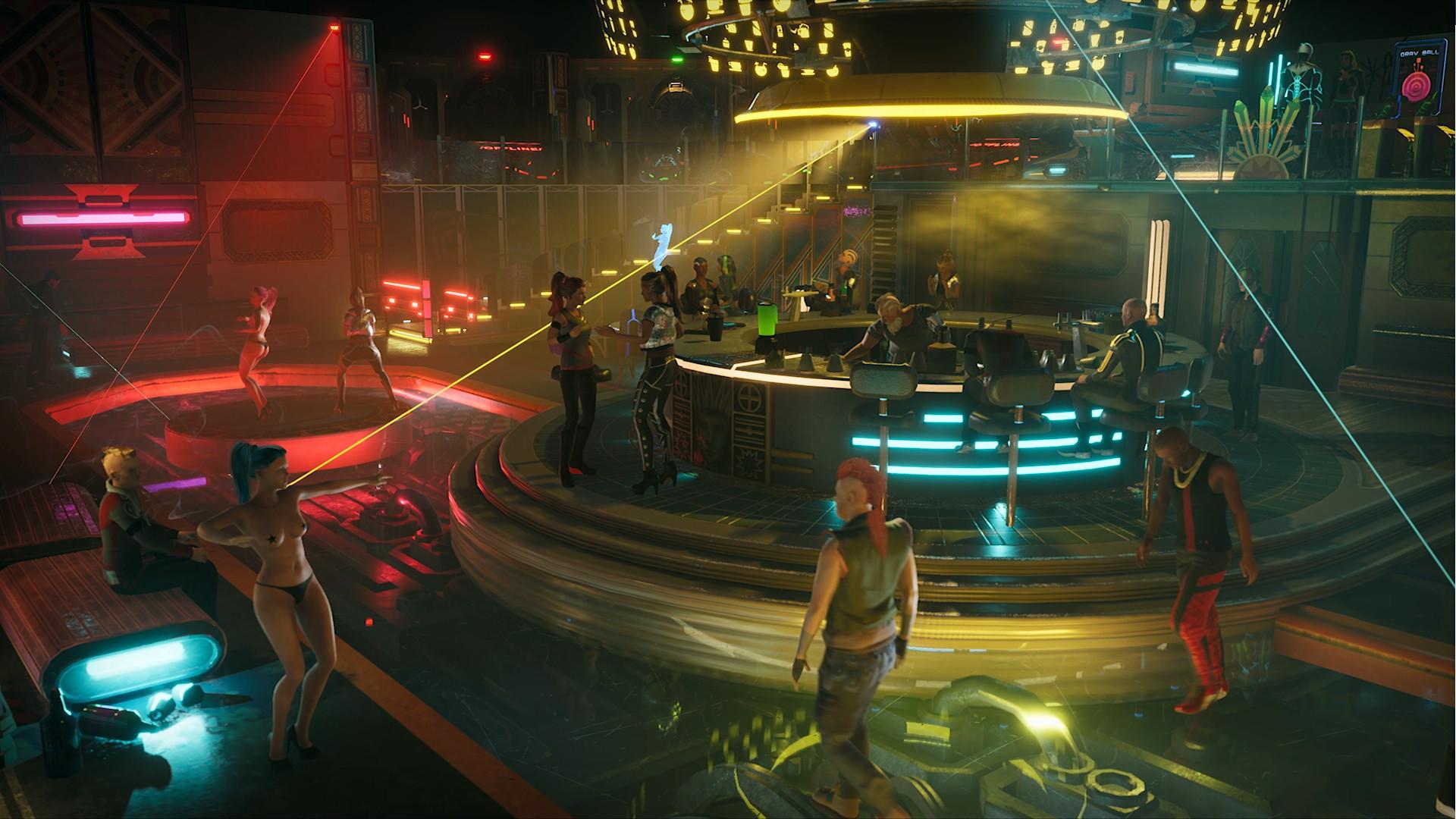 Captura de pantalla de Gamedec.