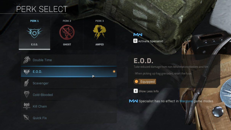 Mejores ventajas de Warzone
